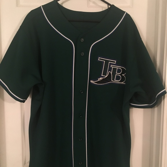 quality design b707a fbb24 Vintage Tampa Bay Rays Jersey